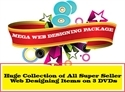 Picture of Web Designing Template DVD